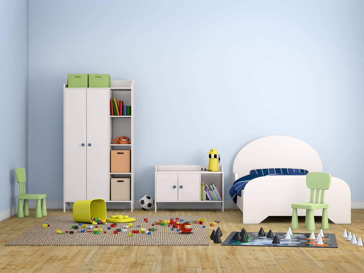 choisir des meubles de rangement adapts une chambre denfant istock hkeita - Rangement Chambre D Enfant