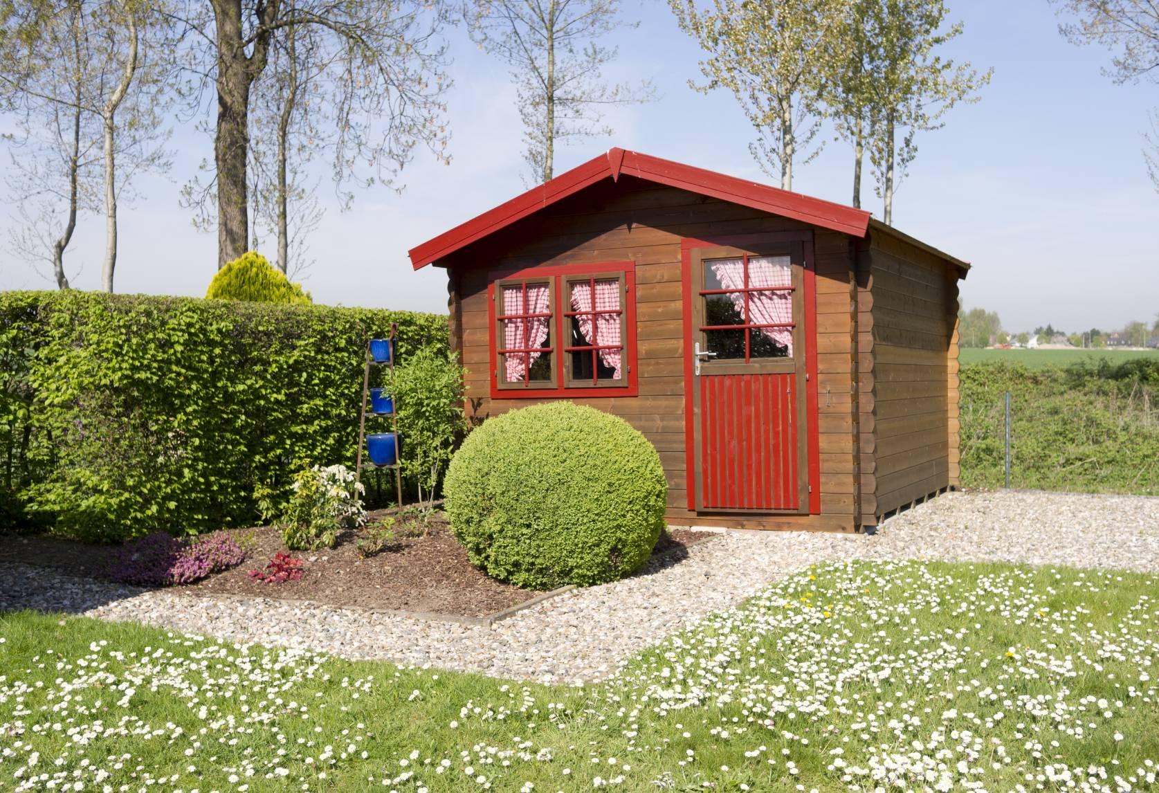 nos conseils pour choisir son chalet de jardin. Black Bedroom Furniture Sets. Home Design Ideas