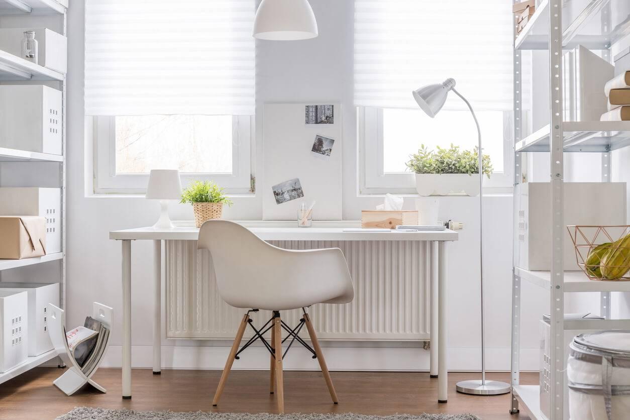 Comment convertir une chambre en bureau professionnel pratique