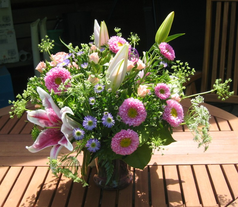 Fleurs coup es comment conserver ses fleurs coup es for Bouquet de fleurs lilas