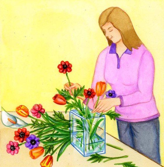 fleurs coupées : comment conserver ses fleurs coupées   pratique.fr