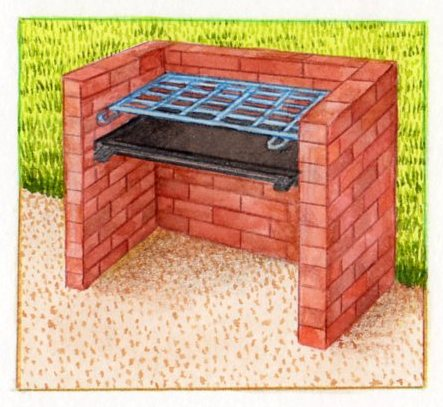 Construire un barbecue en pierre for Foyer exterieur en brique