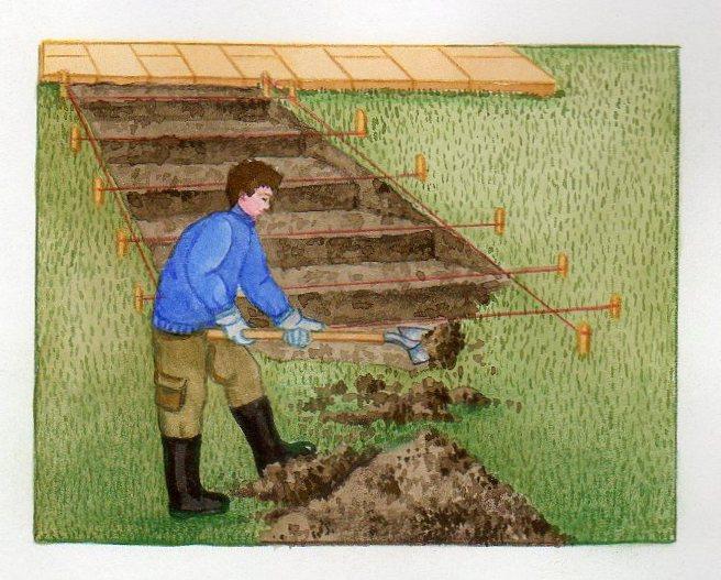 Escalier en pierre construire un escalier en pierre - Comment trouver de l or dans son jardin ...