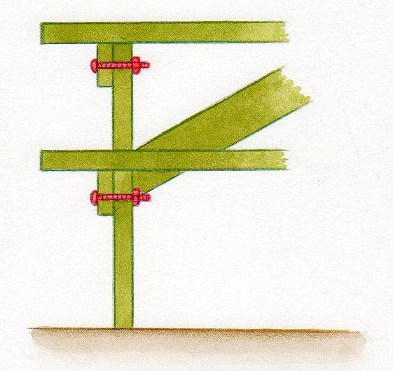 Table pique nique construire une table de pique nique for Construire une table en bois