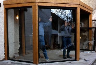 Construire une v randa for Construire une veranda en bois