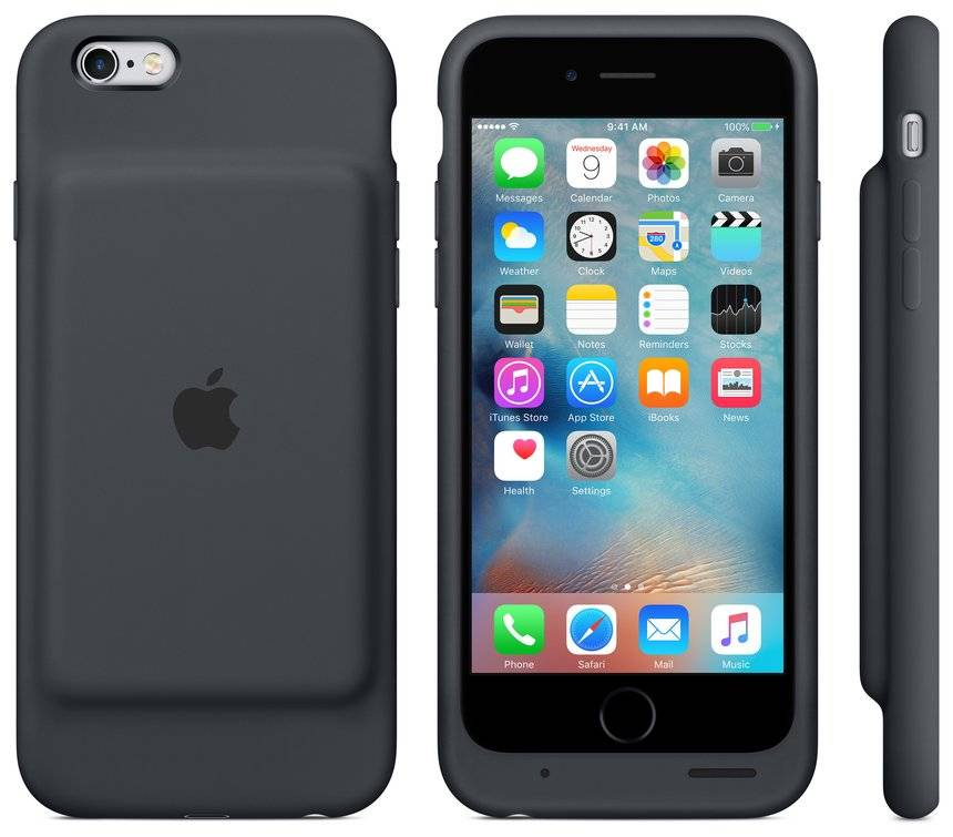 apple lance une coque batterie compatible iphone 6 et 6s. Black Bedroom Furniture Sets. Home Design Ideas