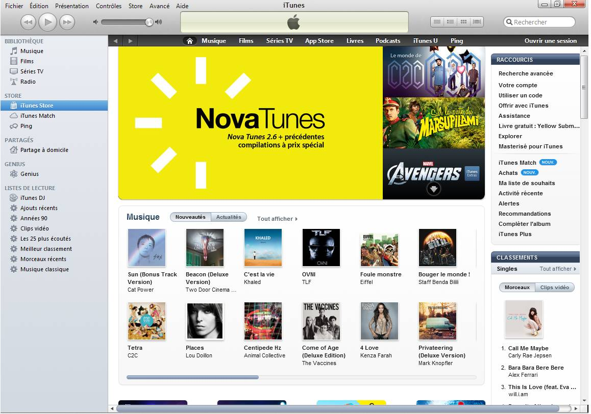 creer compte itunes carte bancaire