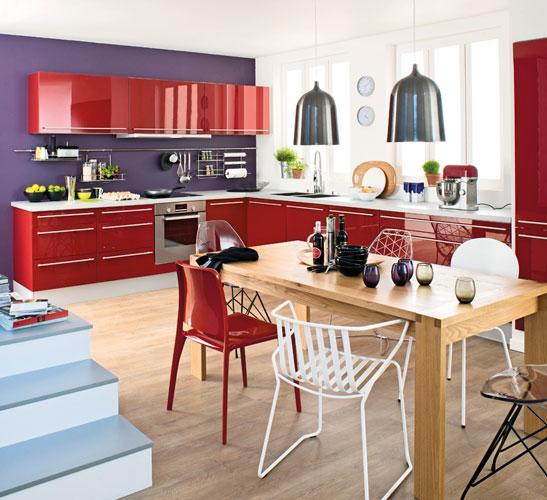 cuisine pop r alisez une cuisine pop accessoires couleur peinture. Black Bedroom Furniture Sets. Home Design Ideas