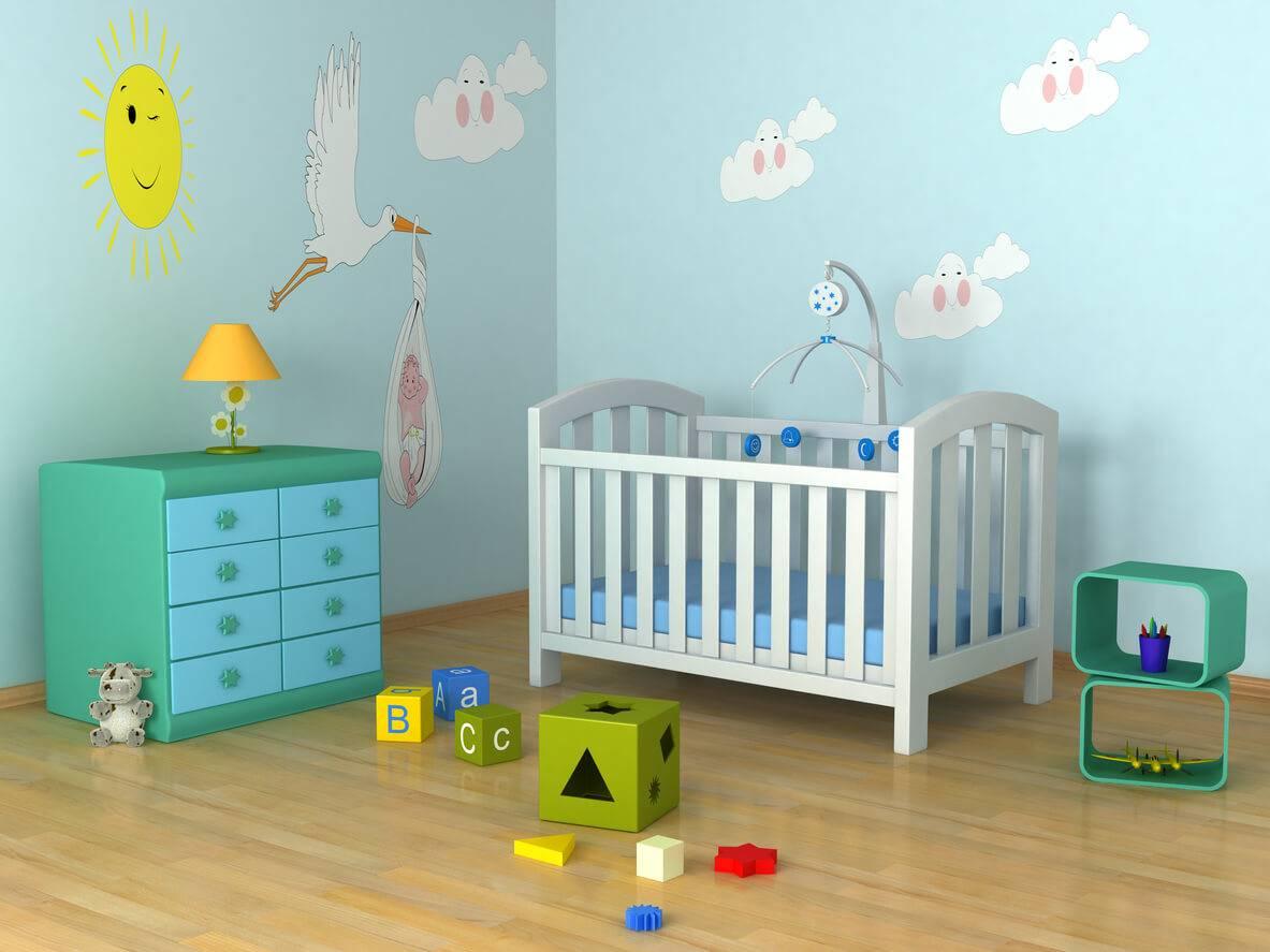 des id es pour d corer le mur d 39 une chambre d 39 enfant. Black Bedroom Furniture Sets. Home Design Ideas