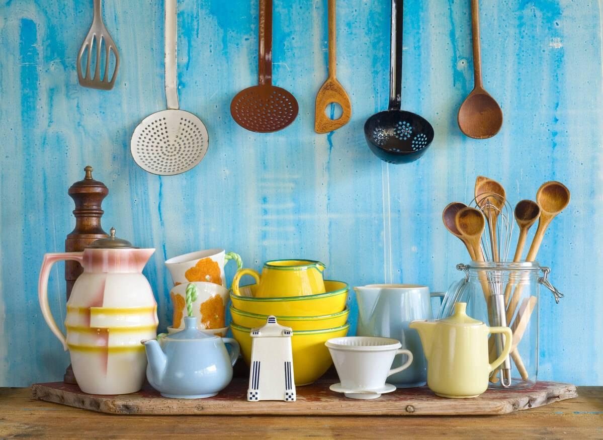 des objets de cuisine oubli s mettre dans sa salle manger. Black Bedroom Furniture Sets. Home Design Ideas
