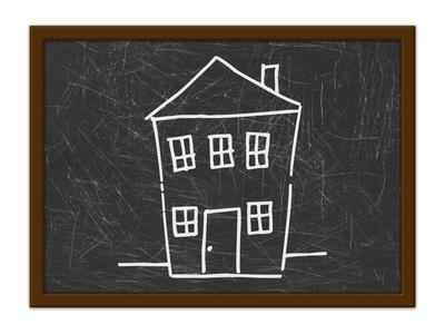 dessiner une maison. Black Bedroom Furniture Sets. Home Design Ideas
