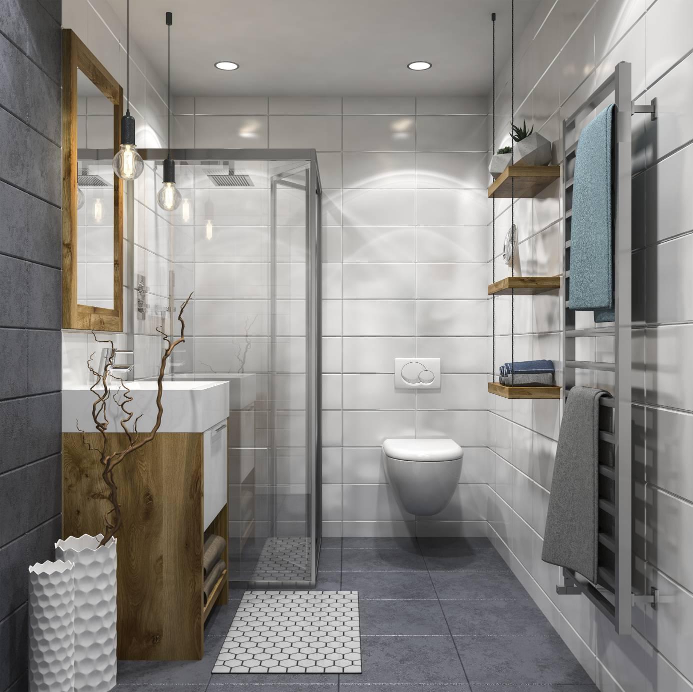 Conseils pour l 39 clairage de votre salle de bains - Accroche serviette salle de bain ...