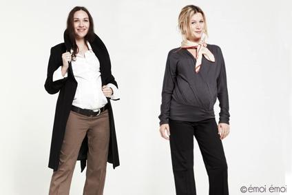 Comment s 39 habiller au bureau quand on est enceinte - Vetement de bureau pour femme ...