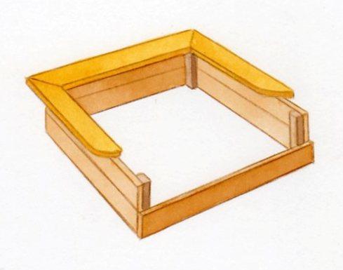 construire un bac sable. Black Bedroom Furniture Sets. Home Design Ideas