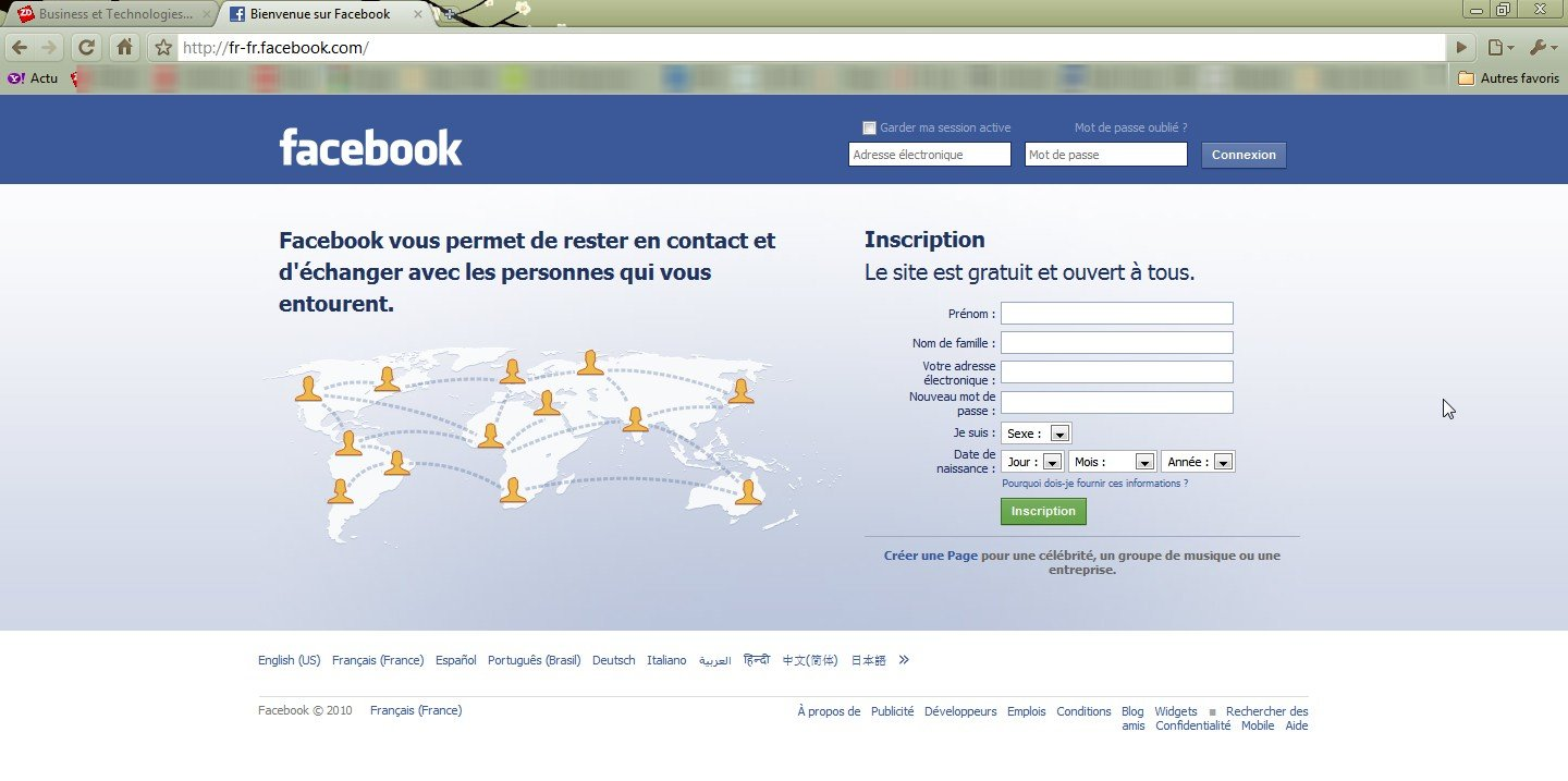 Site de rencontre inscription avec facebook