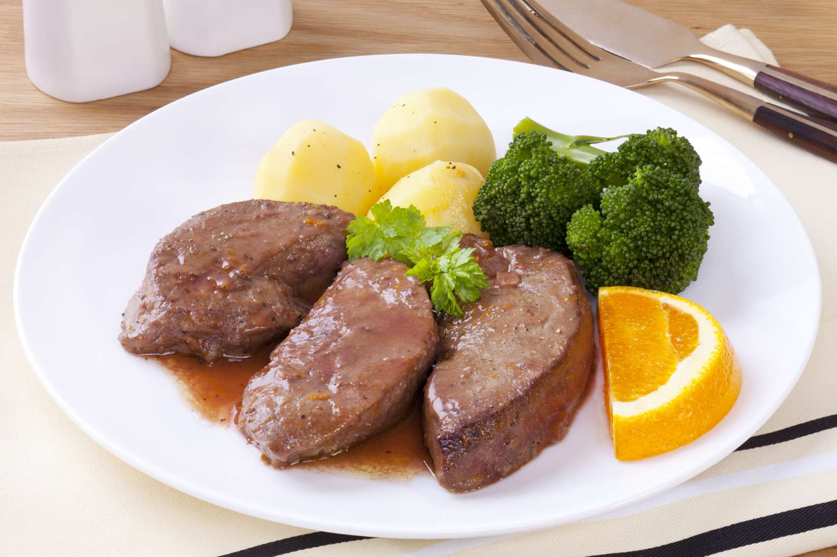 Recette du foie de veau au vinaigre - Foie de veau vinaigre balsamique ...