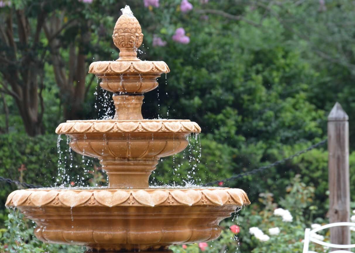 Fontaine de jardin les diff rents mod les for Le jardin de the