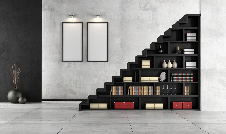 gain de place et d 39 espace on repense l 39 escalier. Black Bedroom Furniture Sets. Home Design Ideas