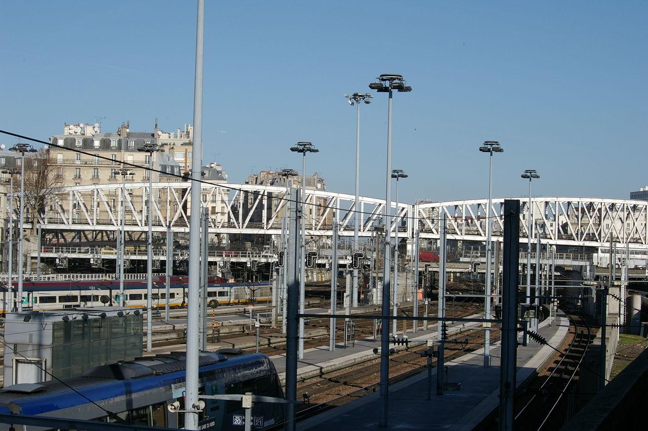 Gare du nord trafic fortement perturb suite un for Garage bon accueil saint denis