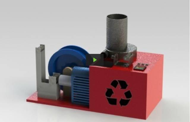 Pour une impression 3d colo un robot qui recycle le plastique - Machine pour recycler le plastique ...
