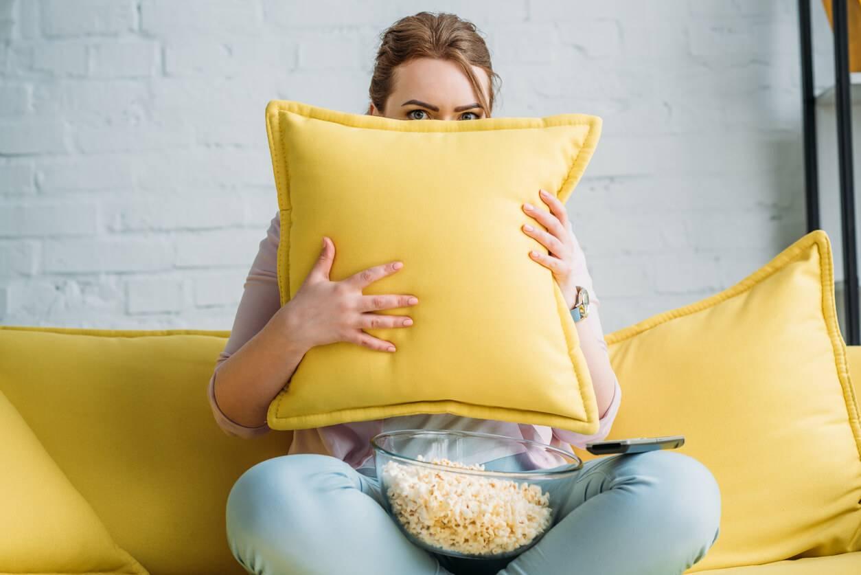 perdre du poids à regarder des films d horreur