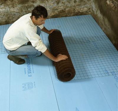 isolation thermique des sols d 39 une maison. Black Bedroom Furniture Sets. Home Design Ideas