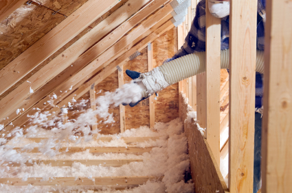 Isoler les combles perdus avec un isolant projet - Comment isoler le toit d un garage ...