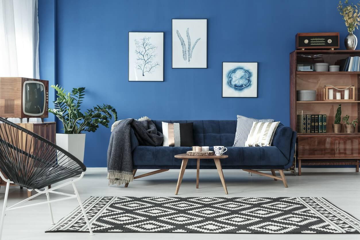 Le Bleu Indigo La Touche Colorée Dans Votre Déco Pratique Fr