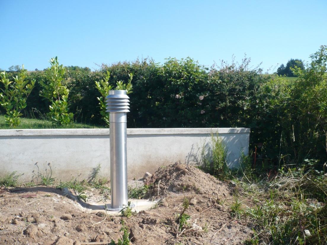 Puits canadien installation d 39 un puits canadien for Principe du puit canadien