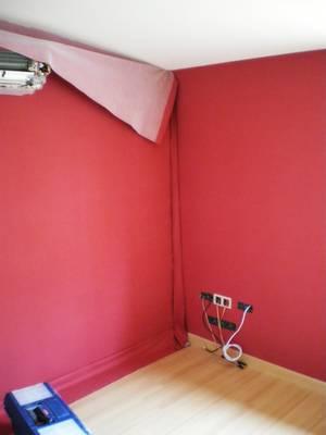 pose de tissu mural. Black Bedroom Furniture Sets. Home Design Ideas