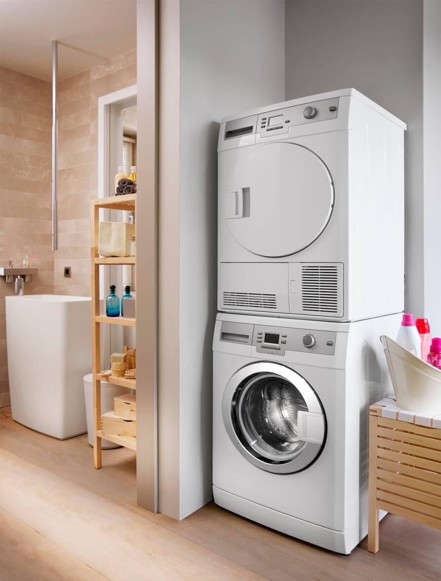 les astuces pour agencer un espace buanderie trop troit. Black Bedroom Furniture Sets. Home Design Ideas