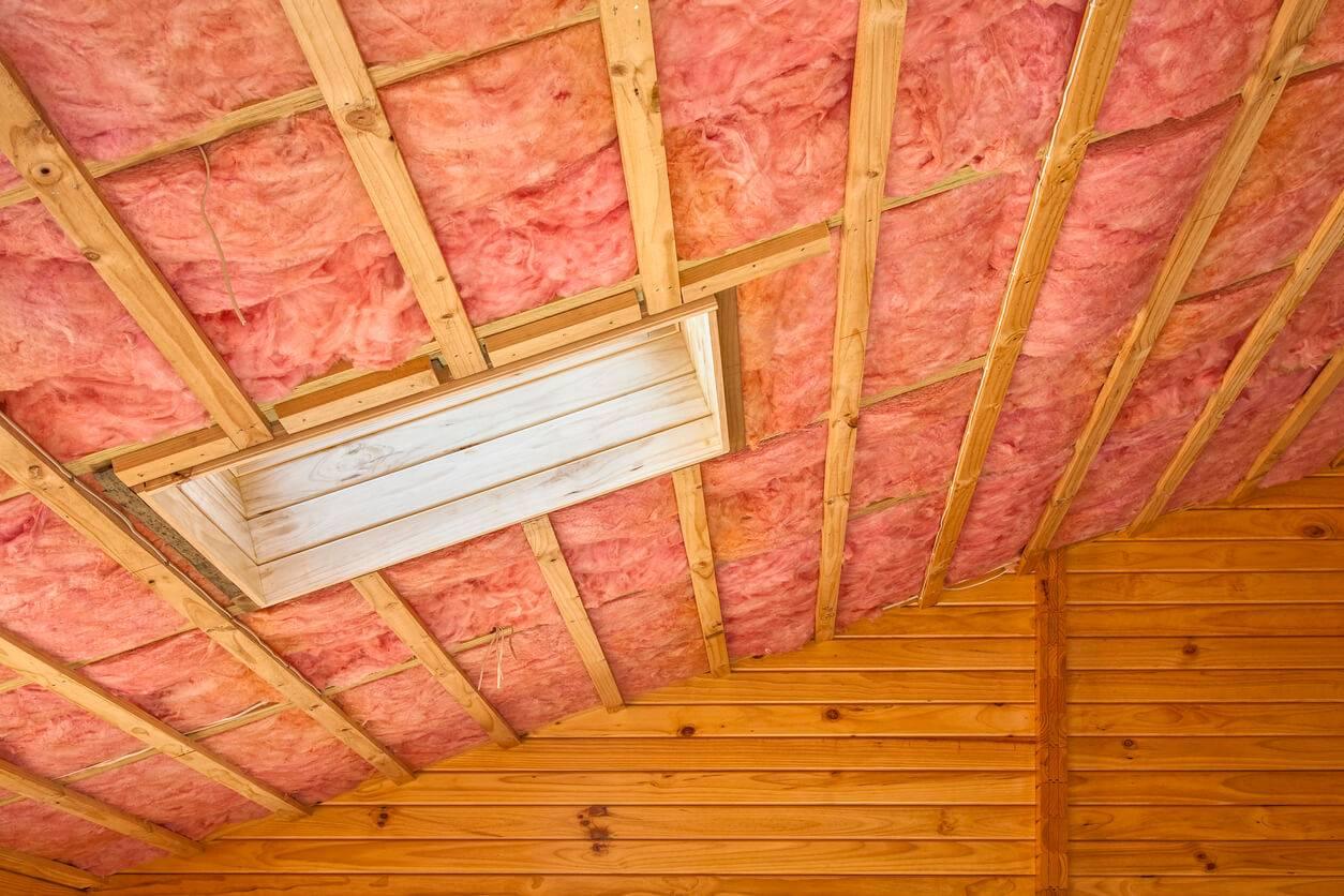 les techniques d isolation d un plafond. Black Bedroom Furniture Sets. Home Design Ideas