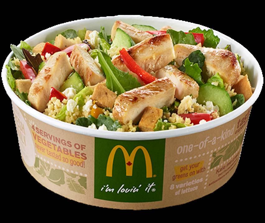 La Preuve Qu Une Salade Mcdo Est Parfois Plus Grasse Qu Un