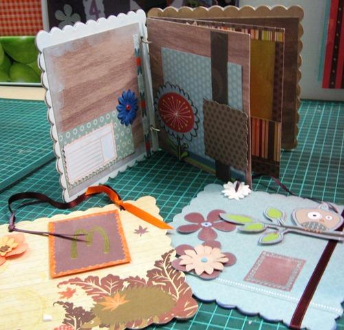 fabriquer un mini album scrap. Black Bedroom Furniture Sets. Home Design Ideas