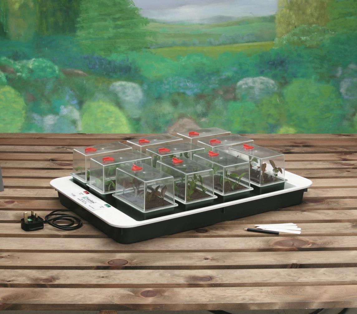 Mini serres comment les choisir - Fabriquer une mini serre pour semis ...