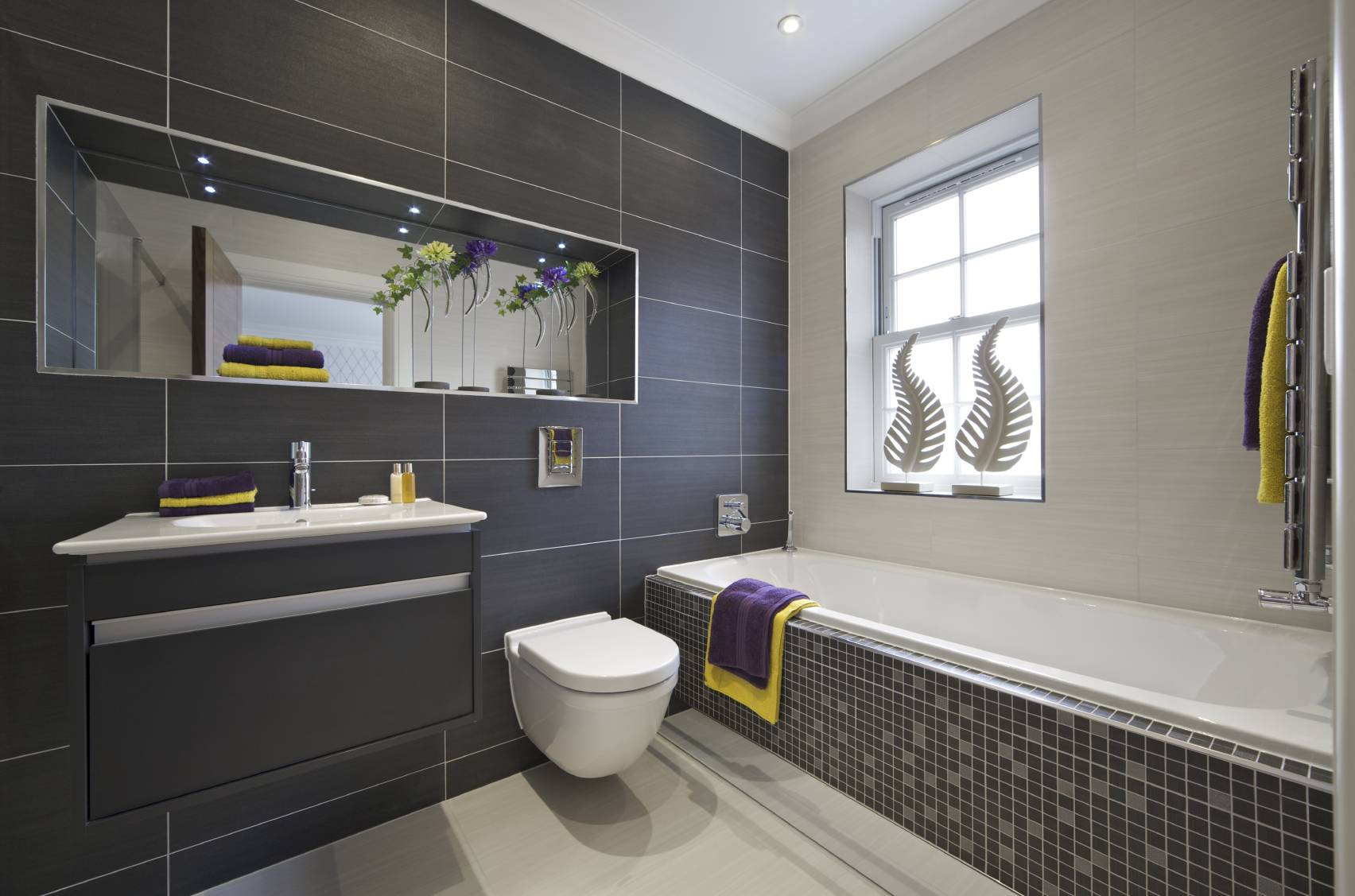 Salle de bain design for Photo salle de bain design
