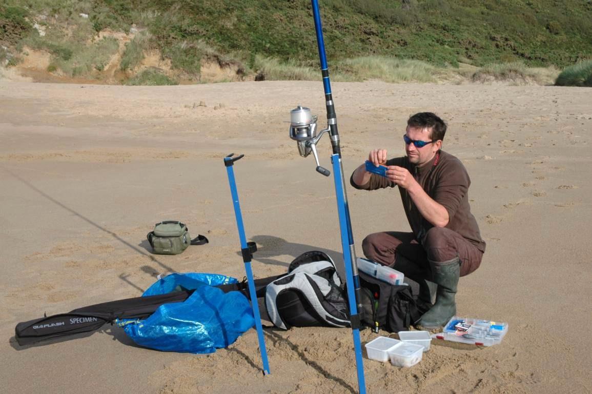 Surfcasting 34  Pêche en Mer Méditérranée et plus précisement en