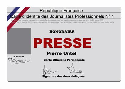 carte de presse gratuite Comment obtenir une carte de presse   Pratique.fr