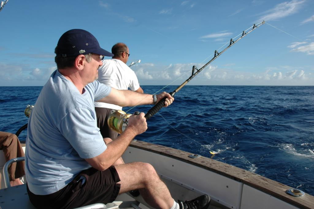 Le jeu sur psp la pêche