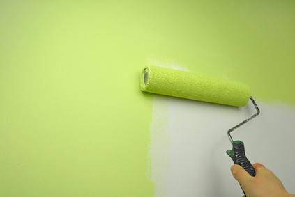Peindre un pan de mur id es de d coration et de mobilier for Pour peindre un mur