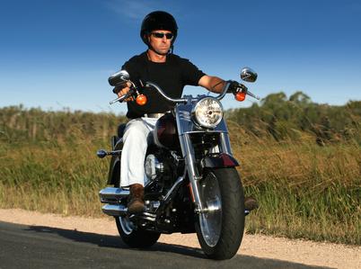 Conduire un moto