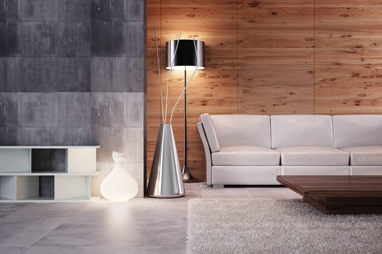 personnaliser la d coration d un salon avec des lampes poser. Black Bedroom Furniture Sets. Home Design Ideas