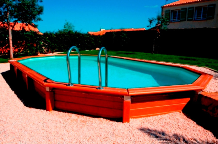 Piscines hors sol les diff rents types for Piscine plastique rigide