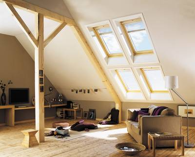 poser une fen tre de toit type velux. Black Bedroom Furniture Sets. Home Design Ideas