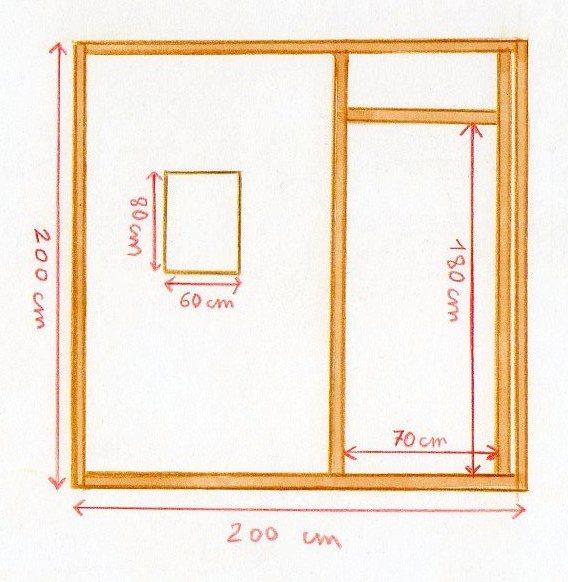 Construire un poulailler for Construction poulailler en dur