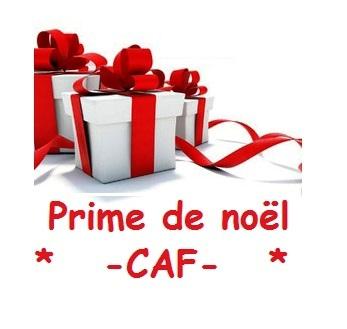 Prime De Noel Se La Caf