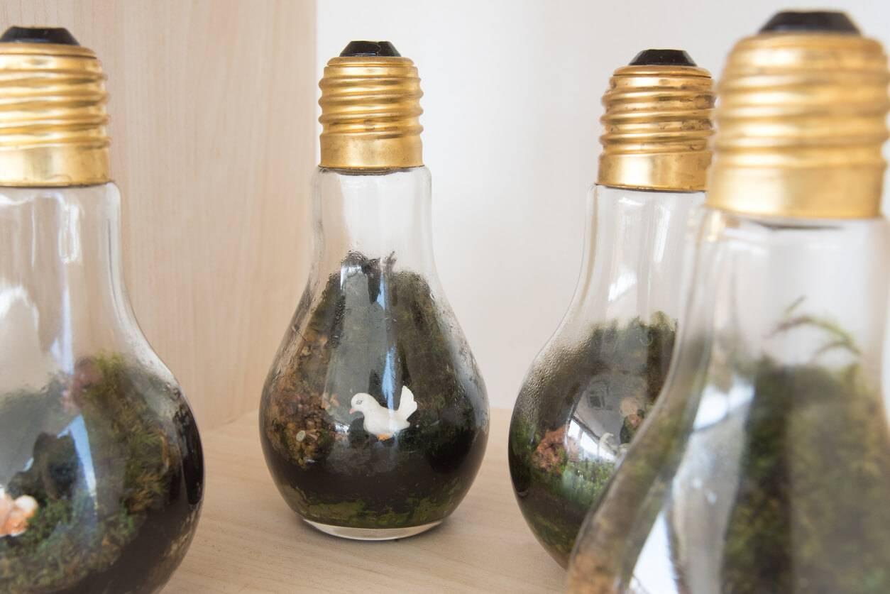 recycler des objets inutilis s pour d corer son int rieur. Black Bedroom Furniture Sets. Home Design Ideas