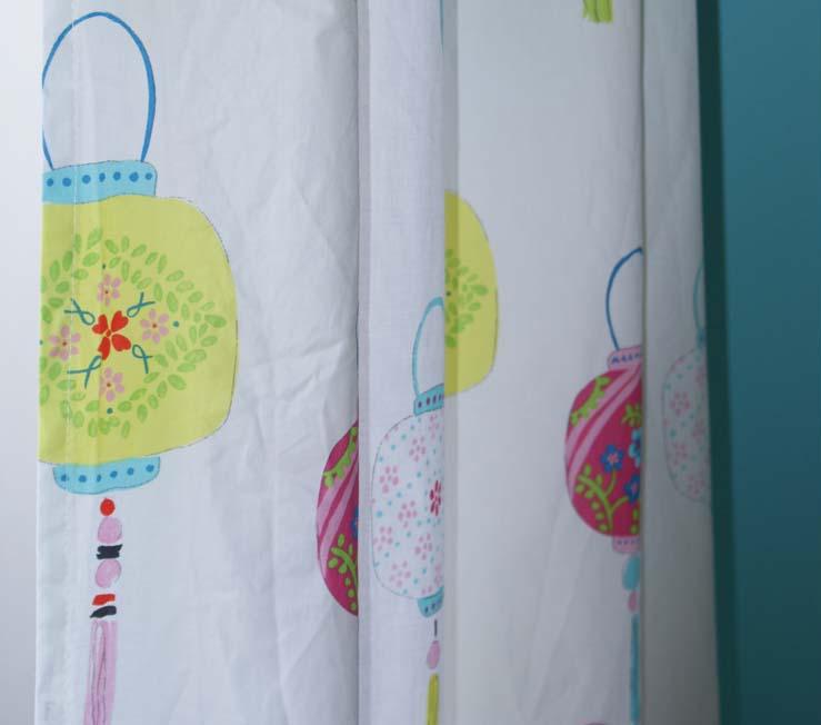 D coration de chambre de b b r aliser une jolie chambre for Rideaux pour chambre de bebe