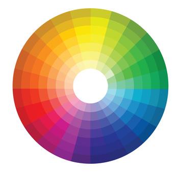 Roue chromatique la roue chromatique des couleurs - Palette chromatique des couleurs ...