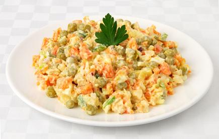 Vers de la salade